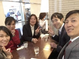 企業研修講師メンバーと☆